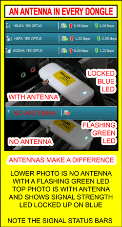 Dongle Antenna difference