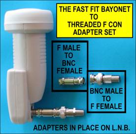 Fast Fit Bayonet Connectors