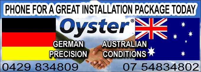 Phone 0429 834 809 for a great Oyster Satallite Installation Package