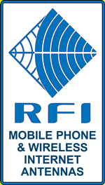 RFI Mobile Phone & Wireless Internet Antennas