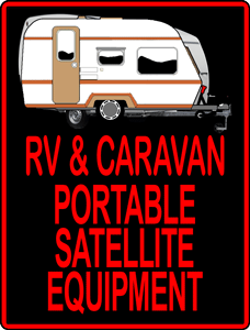 PinkTronix RV and Caravan Portable Satellite Equipment